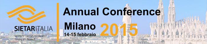 SIETAR Italia Annual Conference 2015
